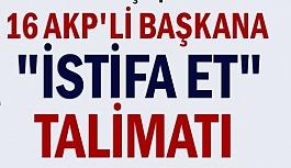 AK PARTİ İSTANBUL'DA, İSTİFASI...