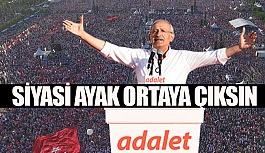 """CHP """"DARBENİN SİYASİ AYAĞI ORTAYA..."""