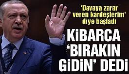 Cumhurbaşkanı Erdoğan'dan AKP teşkilatına...
