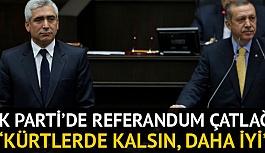 Ensarioğlu'ndan 'Irak referandumu'...