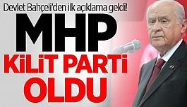 Devlet Bahçeli: MHP tarihi bir başarıya...