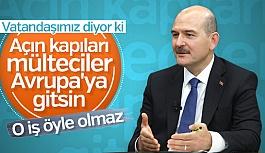 Türkiye'deki mültecilerin durumu...