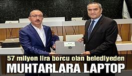 57 milyon lira borcu olan AKP'li belediyeden...