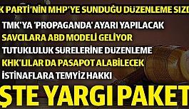 Yargı Paketi Taslak metinde MHP Genel Başkanı...